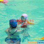 Hấp dẫn với lớp học bơi kèm riêng tại bể bơi Bảo Sơn