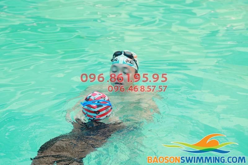 Baosonswimming - đơn vị dạy học bơi khách sạn Bảo Sơn uy tín, chuyên nghiệp