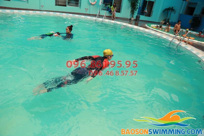 Học bơi nâng cao chuyên nghiệp tại Bảo Sơn Swimming