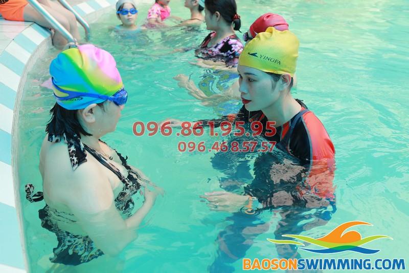 Bảo Sơn Swimming nhận dạy học bơi cho mọi đối tượng