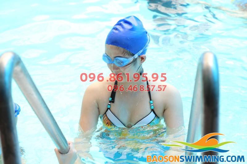 Tận hưởng cảm giác thư thái tuyệt vời tại Bảo Sơn Swimming
