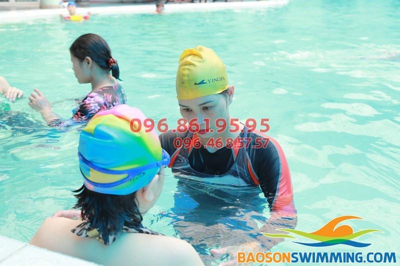 Dạy học bơi Bảo Sơn 2017 cùng HLV giỏi