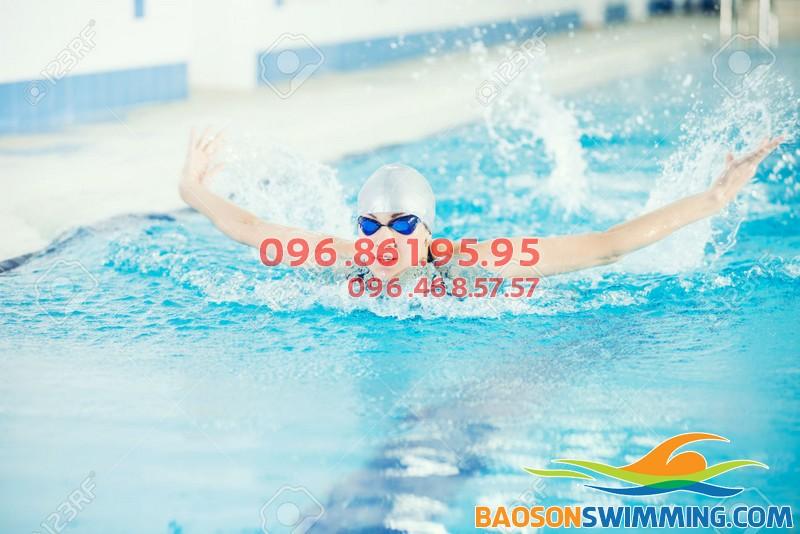 Kỹ thuật thở trong từng kiểu bơi