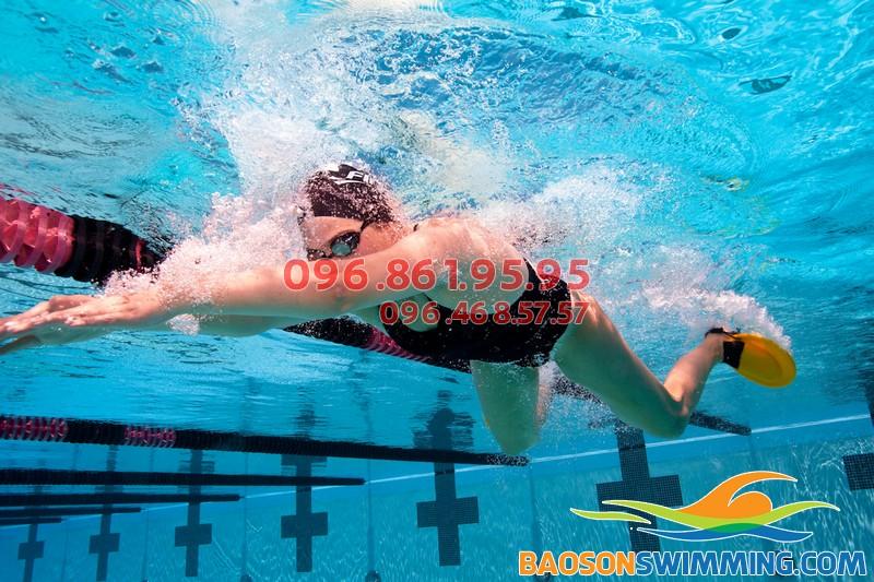 Tác dụng của môn thể thao bơi lội