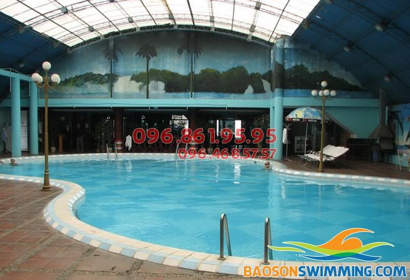 Tìm bể bơi tốt nhất cho trẻ khu vực quận Đống Đa