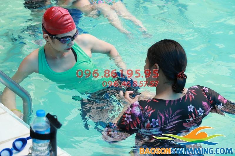Lớp học bơi giảm cân tốt nhất của Bảo Sơn Swimming