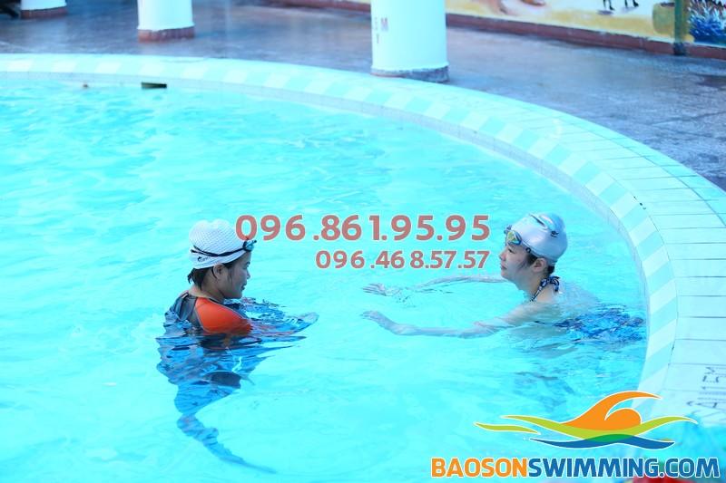 Dạy bơi cơ bản bể Bảo Sơn: Mục tiêu và chiến lược cụ thể
