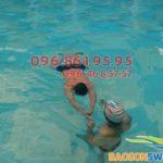 Dạy bơi ếch đúng kỹ thuật cho mọi học viên bể Bảo Sơn giá rẻ