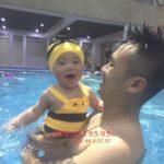 Những điều biết khi dạy bơi cho trẻ sơ sinh