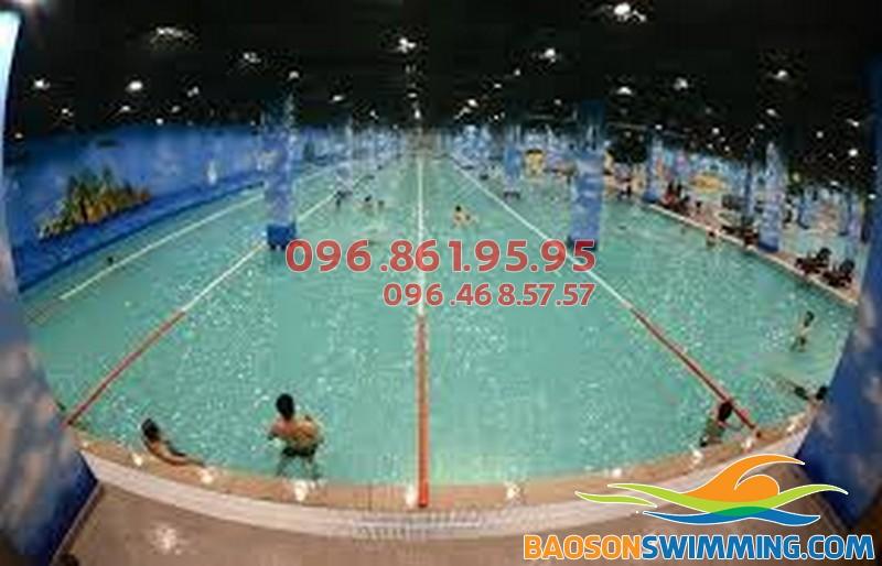 Toàn cảnh bể bơi bốn mùa Times City