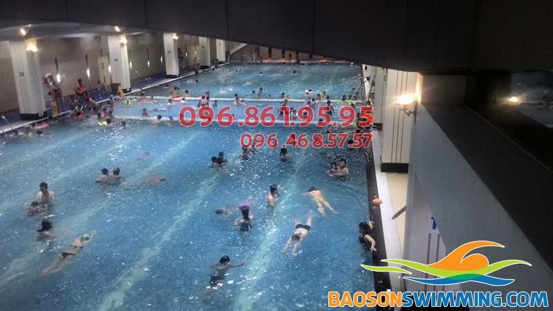 Bể bơi Hapulico - địa điểm học bơi hấp dẫn