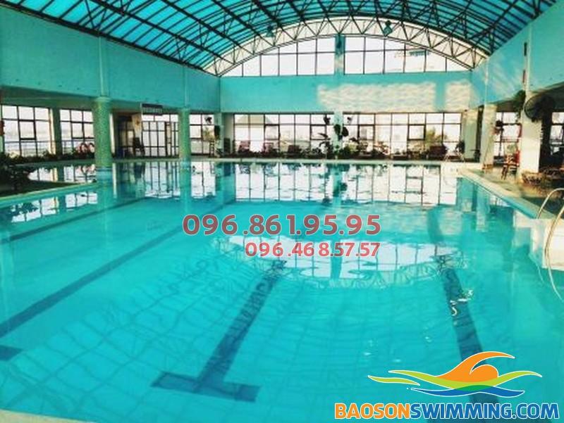 Bể bơi Sense &Spa