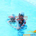 Học bơi mùa đông 2018 cùng HLV nữ tại bể nước nóng Bảo Sơn