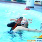 Học bơi mùa đông không lạnh tại bể nước nóng Bảo Sơn 2018
