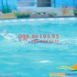 Học bơi mùa đông 2018 bể vắng, học nhanh, hiệu quả