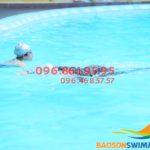 Liên tục mở các lớp dạy bơi mùa đông cấp tốc