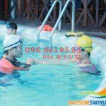 Học bơi mùa đông bể nước nóng khách sạn Bảo Sơn 2018 có gì mới?