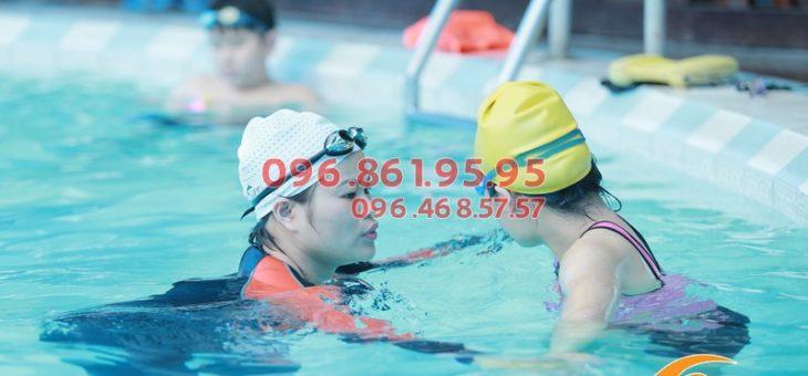 Thở đúng cách trong kỹ thuật bơi