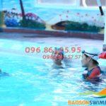 Lớp học bơi cho người lớn tại Hà Nội ở bể nước nóng Bảo Sơn 2018