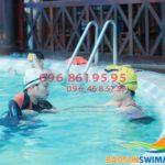 Dạy học bơi kèm riêng người lớn tại Hà Nội mùa đông 2018