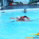 Tuyển sinh các lớp học bơi nâng cao bể nước nóng Bảo Sơn 2018
