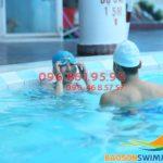 Biết bơi chỉ trong 7 ngày với khóa học bơi bể nước nóng Bảo Sơn 2018