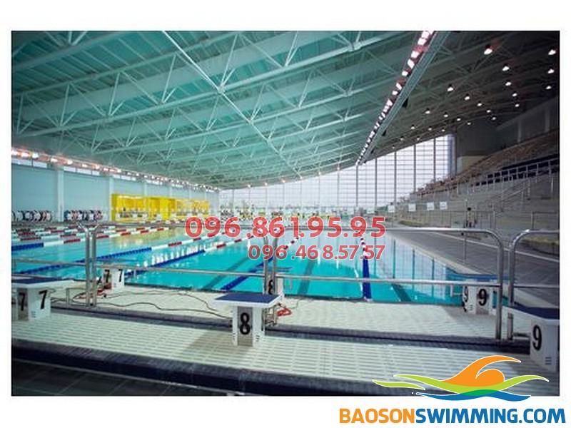 Bể bơi Mỹ Đình địa chỉđường Lê Đức Thọ, Mỹ Đình 1, Hà Nội