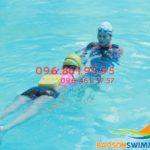 Học bơi bể nước nóng Bảo Sơn 2018: bể vắng, học cực nhanh