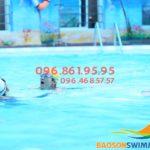 Tìm hiểu chương trình dạy bơi cho trẻ em tại bể Bảo Sơn 2018