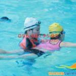 """Lớp học bơi cùng giáo viên nữ bể Bảo Sơn 2018 """"hút"""" học viên"""