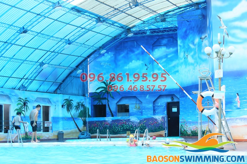Bể bơi Bảo Sơn - địa điểm học bơi trẻ em lý tưởng