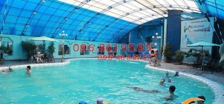 Lớp học bơi cơ bản giá rẻ tại bể bơi Bảo Sơn