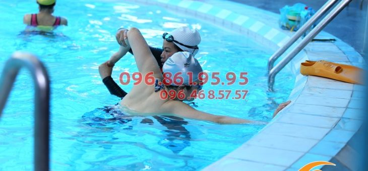 Các lớp học bơi kèm riêng ở bể bơi khách sạn Bảo Sơn 2019