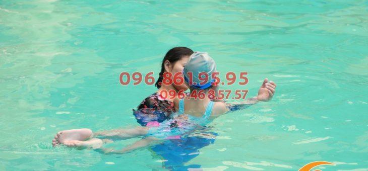 Học bơi ếch trẻ em bể Bảo Sơn giá bao nhiêu?
