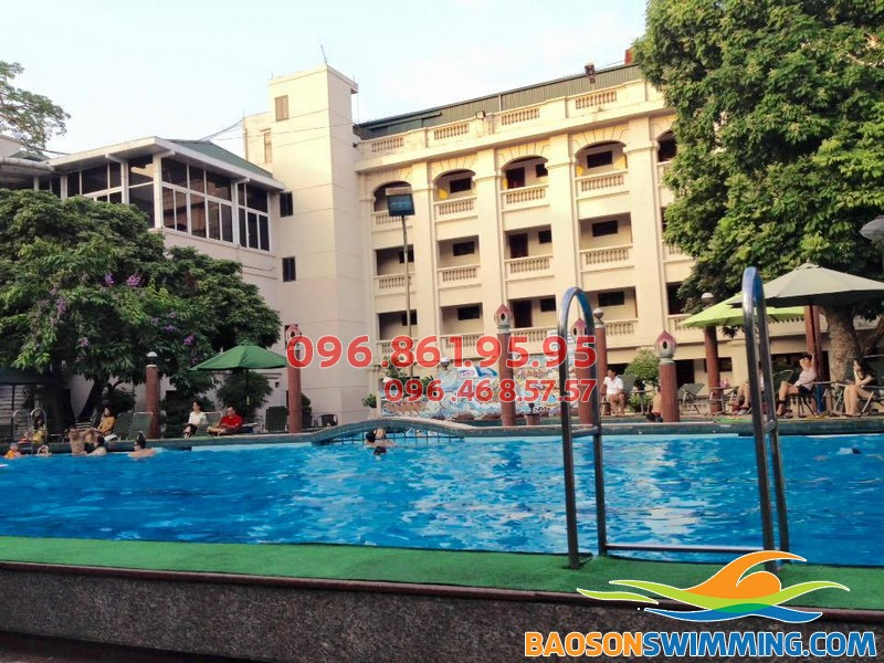 Bể bơi 33C Phạm Ngũ Lão, Hoàn Kiếm, Hà Nội
