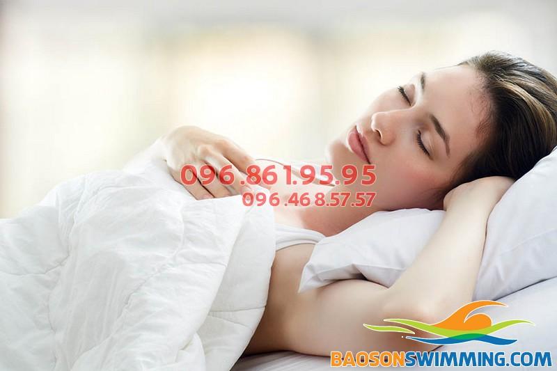 Ngủ đủ giấc giúp giảm cân hiệu quả