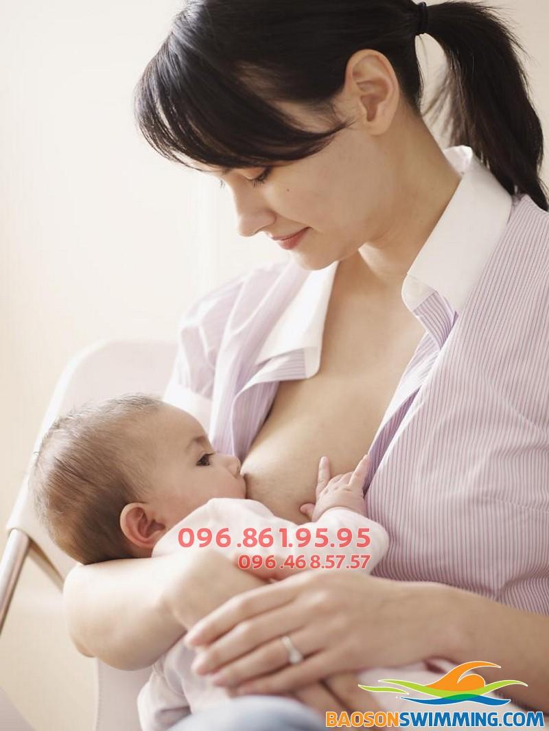 Cho bú mẹ hoàn toàn giúp giảm cân hiệu quả