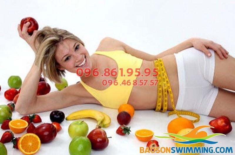Sử dụng nhiều trái cây và rau xanh