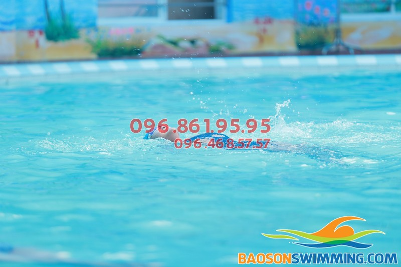 Bể bơi Bảo Sơn là địa chỉ bơi lội yêu thích của các tín đồ bơi lội
