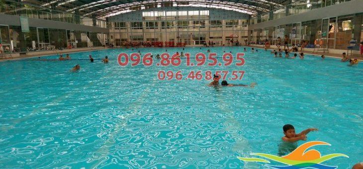 Lớp học bơi kèm riêng tại bể bơi Tăng Bạt Hổ