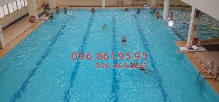Tìm lớp học bơi tại bể bơi bốn mùa Cầu Giấy?