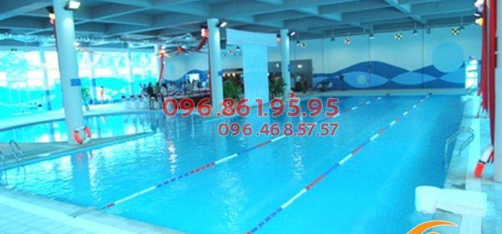 Dạy bơi người lớn tại bể bơi Vạn Bảo