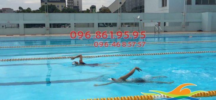 Bể bơi bốn mùa Mỹ Đình: dạy bơi kèm riêng
