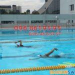 Tìm địa chỉ học bơi tại bể bơi khu vực Mỹ Đình