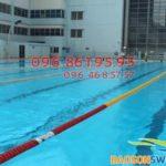 Dạy bơi chuyên nghiệp tại bể bơi Mỹ Đình