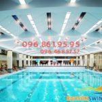 Học bơi ở bể bơi bốn mùa Hapulico 2019