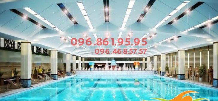 Học bơi ở bể bơi bốn mùa Hapulico 2020