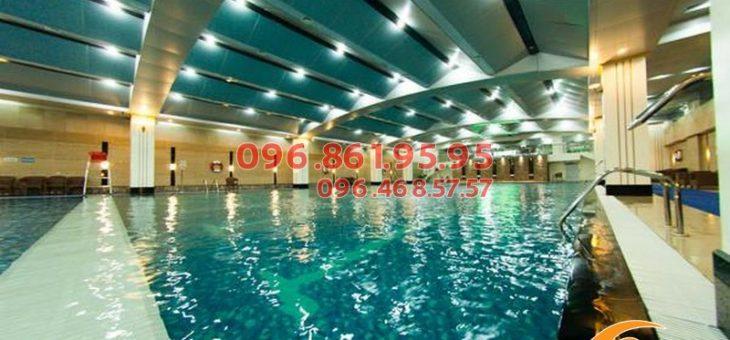 Những bể bơi trẻ em tại Hà Nội sạch nhất