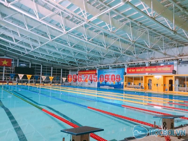 Bể bơi Mỹ Đình – Cung thể thao dưới nước