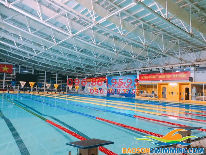 Bể bơi bốn mùa Mỹ Đình - Địa chỉ học bơi lý tưởng cho bé